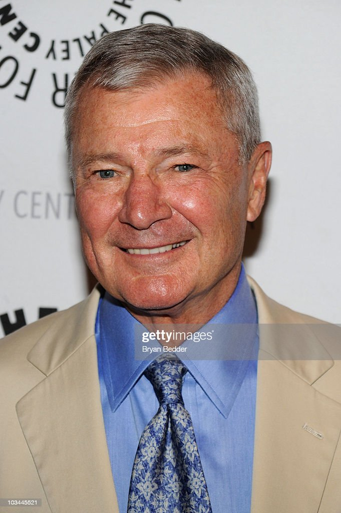 Actor Don Hastings attends a farewell to cast of 'As The World Turns' at The Paley Center for Media on August 18, 2010 in New York City.