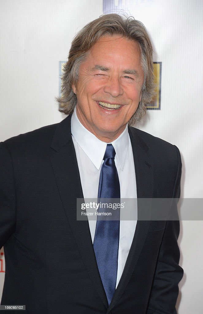Actor <a gi-track='captionPersonalityLinkClicked' href=/galleries/search?phrase=Don+Johnson&family=editorial&specificpeople=211250 ng-click='$event.stopPropagation()'>Don Johnson</a> arrives at the 18th Annual Critics' Choice Movie Awards at Barker Hangar on January 10, 2013 in Santa Monica, California.
