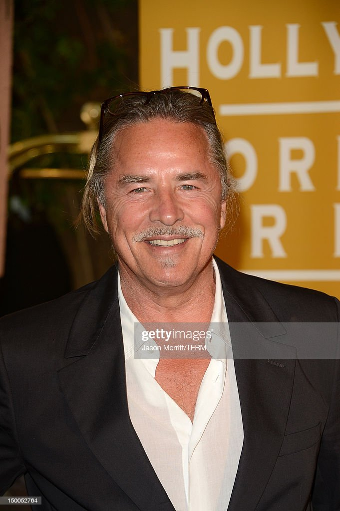 Actor Don Johnson arrives at the Hollywood Foreign Press Association's 2012 Installation Luncheon held at the Beverly Hills Hotel on August 9, 2012 in Beverly Hills, California.