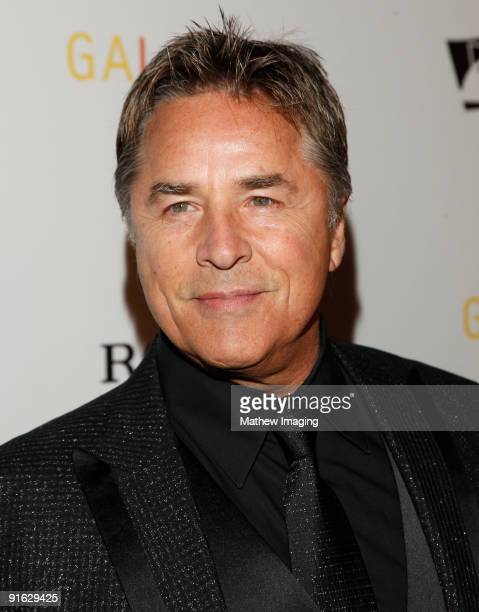 Actor Don Johnson arrives at the Los Angeles Philharmonic Opening Night Gala held at Walt Disney Concert Hall on October 8 2009 in Los Angeles...
