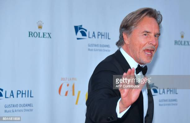 Actor Don Johnson arrives for the Los Angeles Philharmonic's 2017/18 Opening Night Gala 'Mozart The Early Years' in Los Angeles California on...