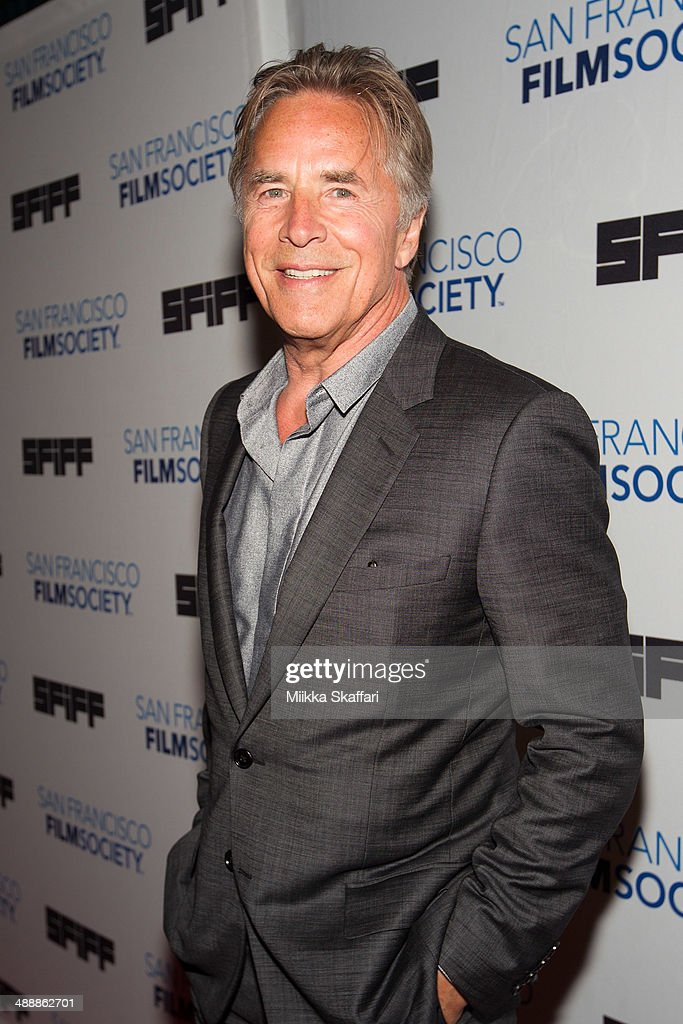Actor <a gi-track='captionPersonalityLinkClicked' href=/galleries/search?phrase=Don+Johnson&family=editorial&specificpeople=211250 ng-click='$event.stopPropagation()'>Don Johnson</a> arrives to the premiere of 'Alex Of Venice' in San Francisco International Film Festival on May 8, 2014 in San Francisco, California.