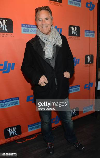 Actor Don Johnson attends Kari Feinstein Style Lounge on January 19 2014 in Park City Utah