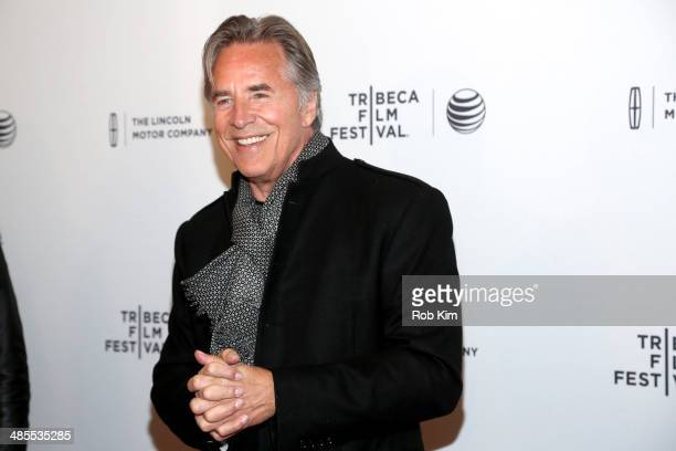 Actor Don Johnson attends the 'Alex of Venice' Premiere during the 2014 Tribeca Film Festival at SVA Theater on April 18 2014 in New York City