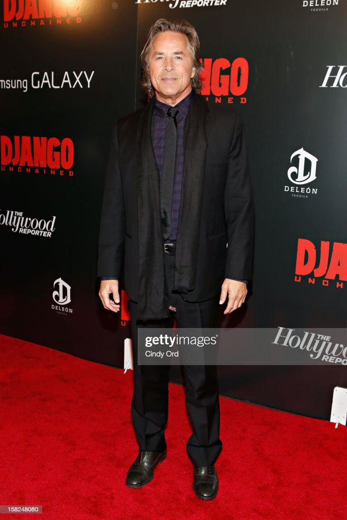 Actor Don Johnson attends the Django Unchained NY premiere at Ziegfeld Theatre on December 11, 2012 in New York City.