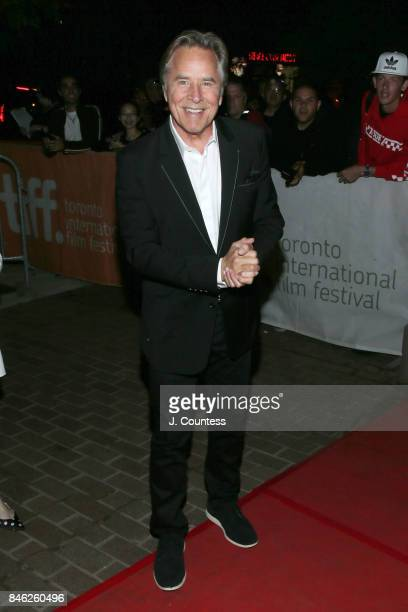 Actor Don Johnson attends the premiere of 'Brawl In Cell Block 99' during the 2017 Toronto International Film Festival at Ryerson Theatre on...