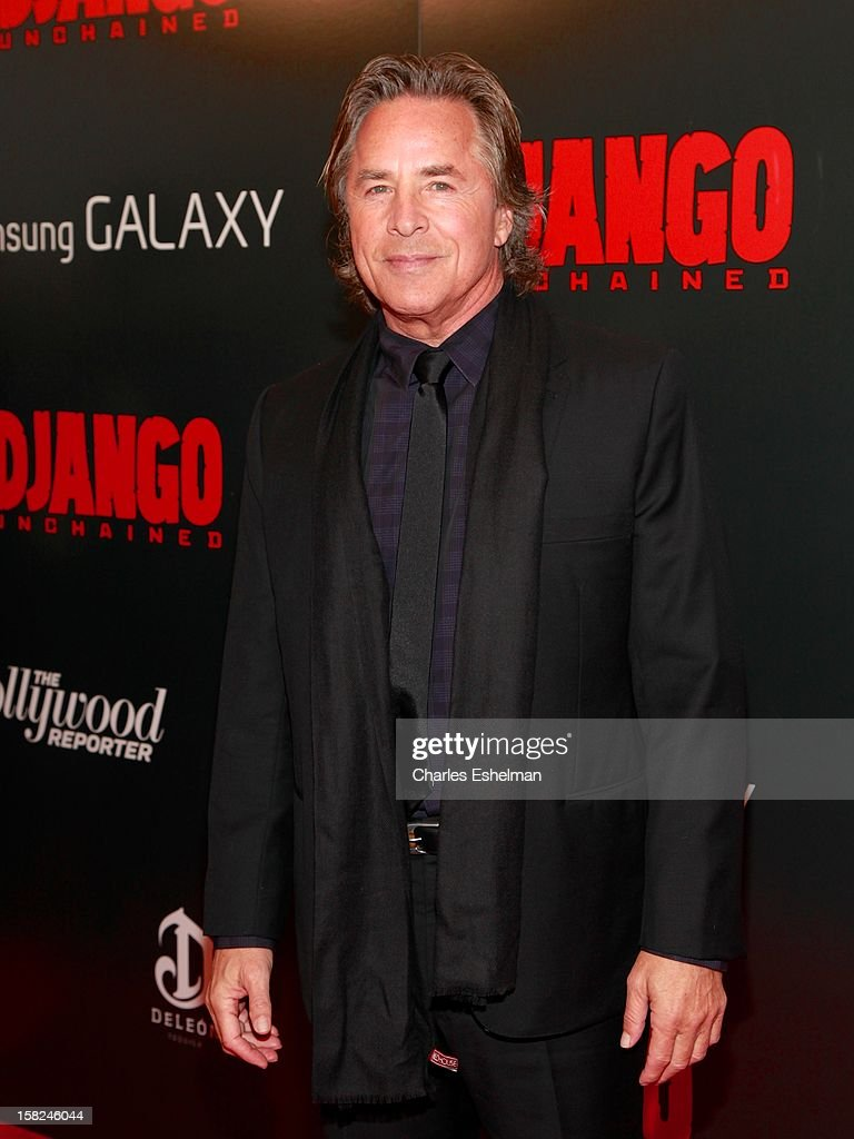 Actor Don Johnson attends The Weinstein Company With The Hollywood Reporter, Samsung Galaxy And The Cinema Society Host A Screening Of 'Django Unchained' at Ziegfeld Theater on December 11, 2012 in New York City.