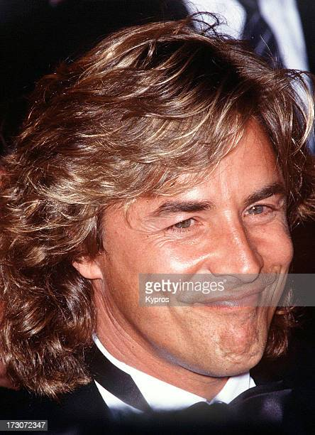 Actor Don Johnson circa 1988