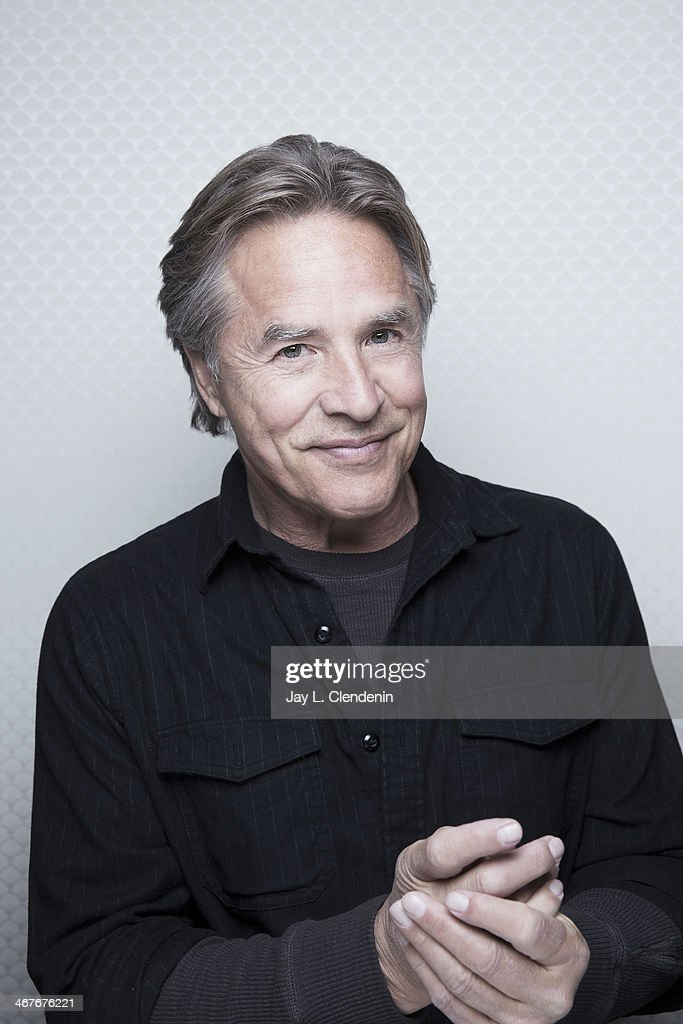Actor <a gi-track='captionPersonalityLinkClicked' href=/galleries/search?phrase=Don+Johnson&family=editorial&specificpeople=211250 ng-click='$event.stopPropagation()'>Don Johnson</a> is photographed for Los Angeles Times on January 18, 2014 in Park City, Utah. PUBLISHED IMAGE.