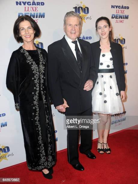 Actor Don Murray and family arrive for the Norby Walters' 27th Annual Night Of 100 Stars Black Tie Dinner Viewing Gala held at The Beverly Hilton...