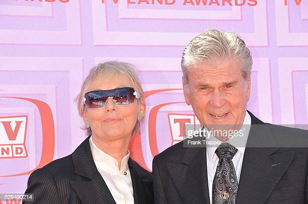 Actor Don Murray and his wife arrive at the TV Land Awards held at the Gibson Theater Universal City