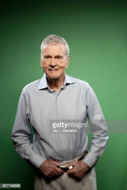 Actor Don Murray from the television series 'Twin Peaks' is photographed in the LA Times photo studio at ComicCon 2017 in San Diego CA on July 21...