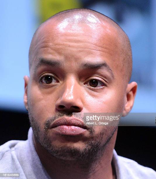 Actor Donald Faison attends The 'Kick Ass 2' And 'Riddick' Panels as part of ComicCon International 2013 held at San Diego Convention Center on...