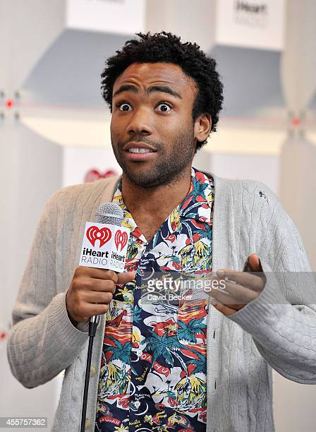 Actor Donald Glover attends the 2014 iHeartRadio Music Festival at the MGM Grand Garden Arena on September 19 2014 in Las Vegas Nevada