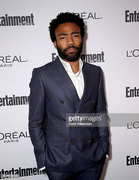 Actor Donald Glover attends the 2016 Entertainment Weekly PreEmmy party at Nightingale Plaza on September 16 2016 in Los Angeles California