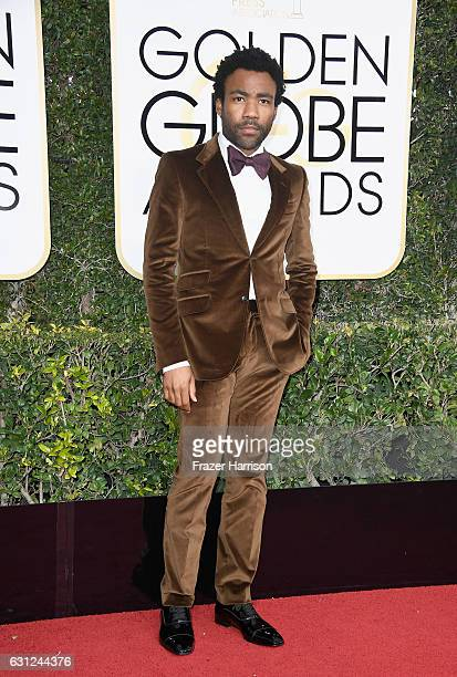 Actor Donald Glover attends the 74th Annual Golden Globe Awards at The Beverly Hilton Hotel on January 8 2017 in Beverly Hills California