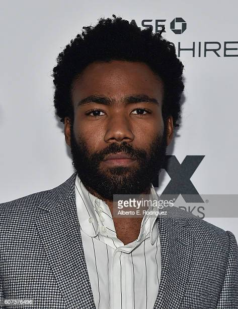 Actor Donald Glover attends the Vanity and FX Annual Primetime Emmy Nominations Party at Craft Restaurant on September 17 2016 in Beverly Hills...
