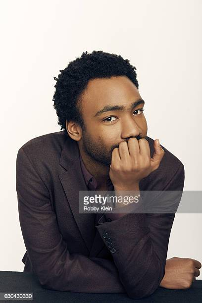 Actor Donald Glover poses for a portrait during the 2016 Critics Choice Awards on December 11 2016 in Santa Monica California