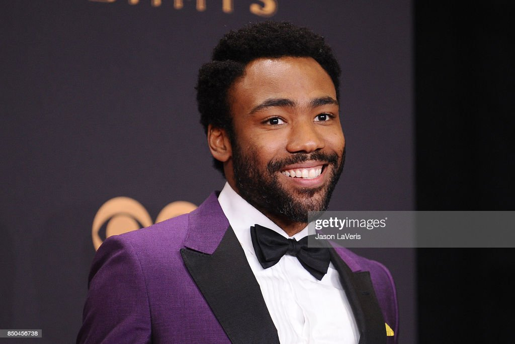 Actor Donald Glover poses in the press room at the 69th annual Primetime Emmy Awards at Microsoft Theater on September 17, 2017 in Los Angeles, California.