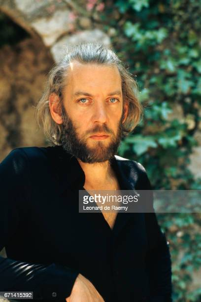 Actor Donald Sutherland at the Cannes Film Festival