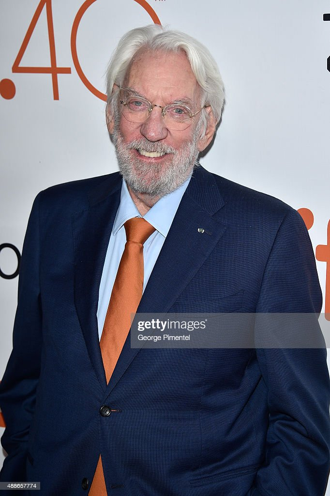 donald sutherland getty images