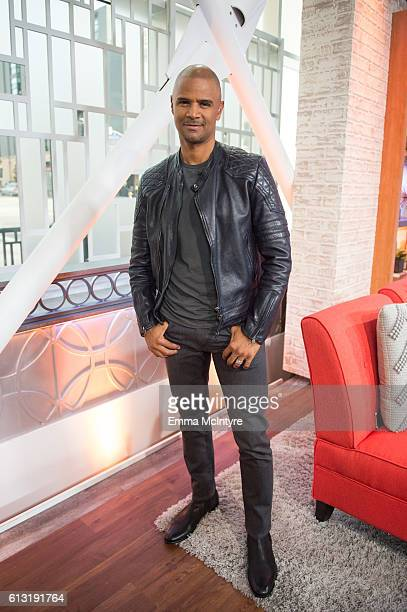 Actor Dondre Whitfield attends 'Kevin Pollak and Brook Burns visit Hollywood Today Live' at W Hollywood on October 7 2016 in Hollywood California
