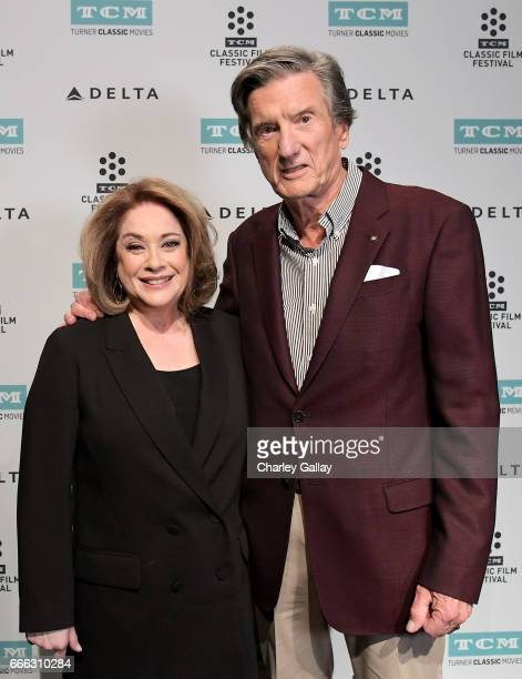 Actor Donna Pescow and director John Badham attend the screening of 'Saturday Night Fever' during the 2017 TCM Classic Film Festival on April 8 2017...