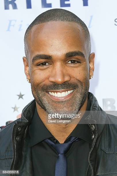 Actor Donnell Turner arrives at the 7th Annual Big Fighters Big Cause Charity Boxing Night Benefiting The Sugar Ray Leonard Foundation at The Ray...