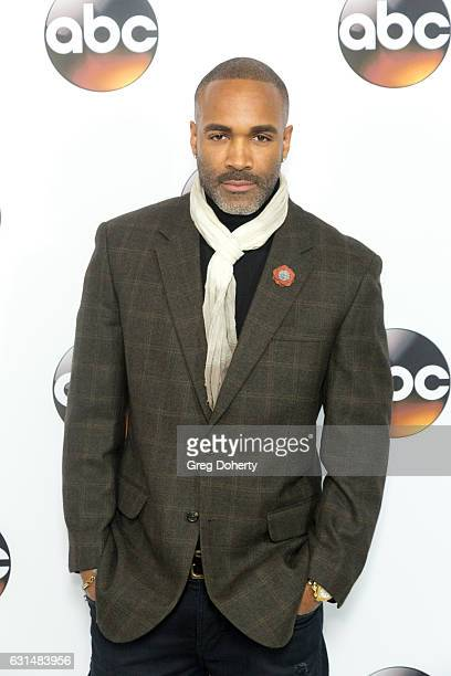 Actor Donnell Turner arrives for the 2017 Winter TCA Tour for Disney/ABC at The Langham Hotel on January 10 2017 in Pasadena California