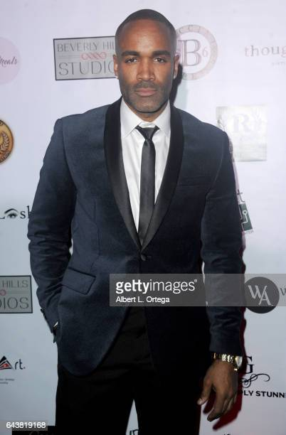 Actor Donnell Turner arrives for the Roman Media Inc's 3rd Annual Red Carpet And Fashion Show held at Boulevard3 on February 21 2017 in Hollywood...