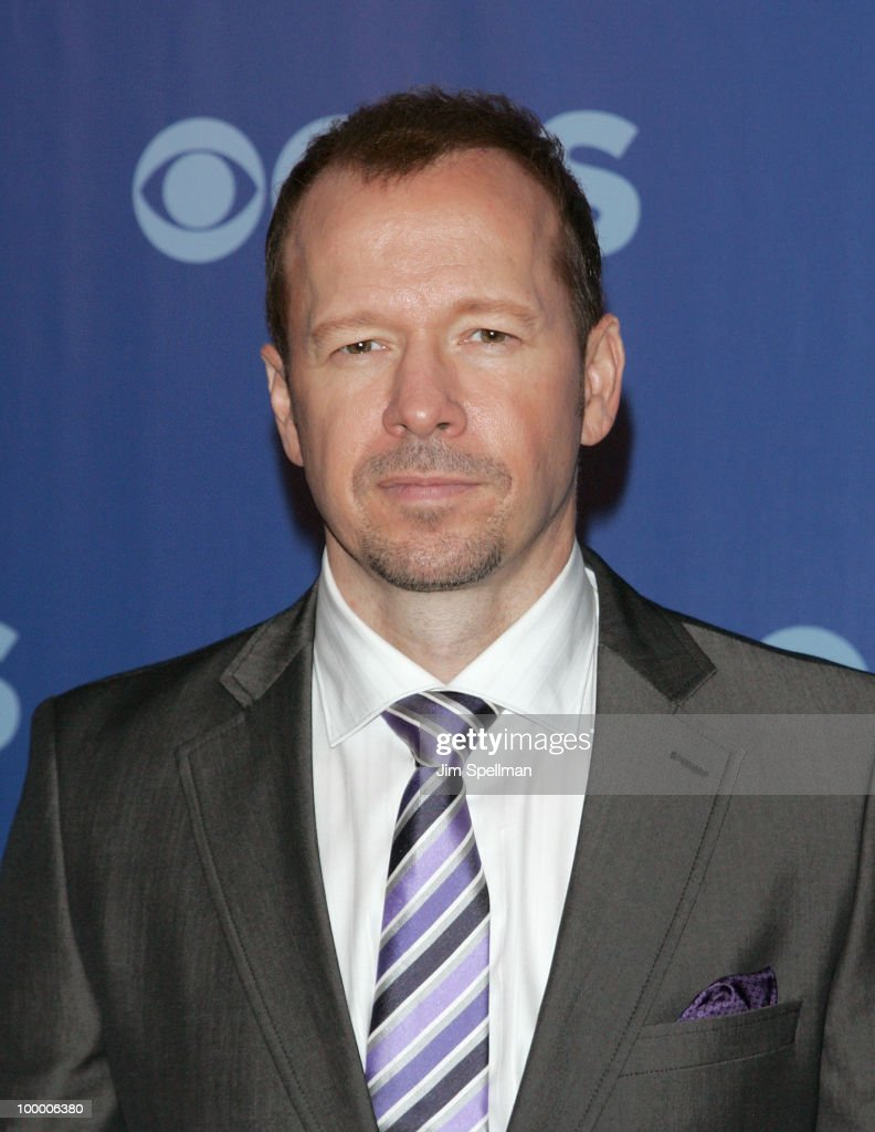 Actor Donnie Wahlberg attends the 2010 CBS Upfront at The Tent at Lincoln Center on May 19, 2010 in New York City.