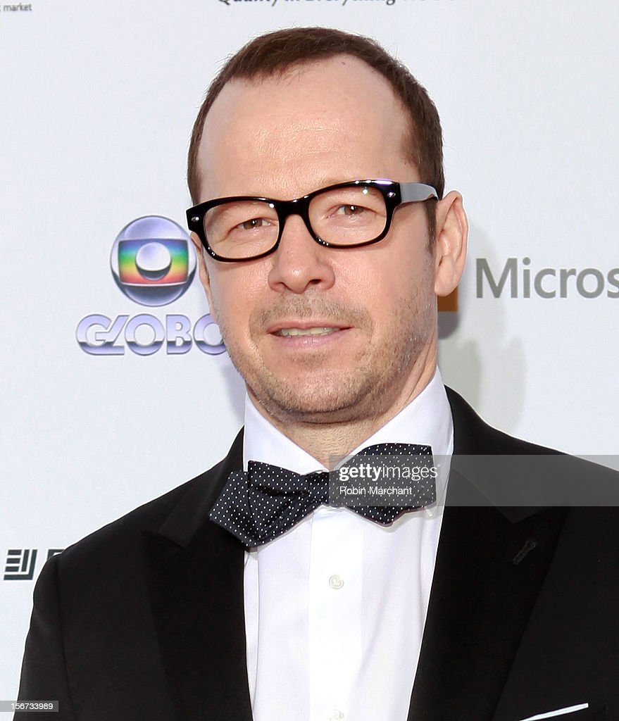 Actor Donnie Wahlberg attends the 40th International Emmy Awards on November 19, 2012 in New York City.