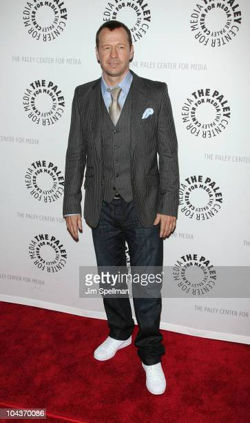 Actor Donnie Wahlberg attends the 'Blue Bloods' screening at The Paley Center for Media on September 22 2010 in New York City