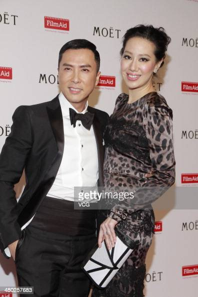 Donnie Yen Wife Stock Photos and Pictures | Getty Images