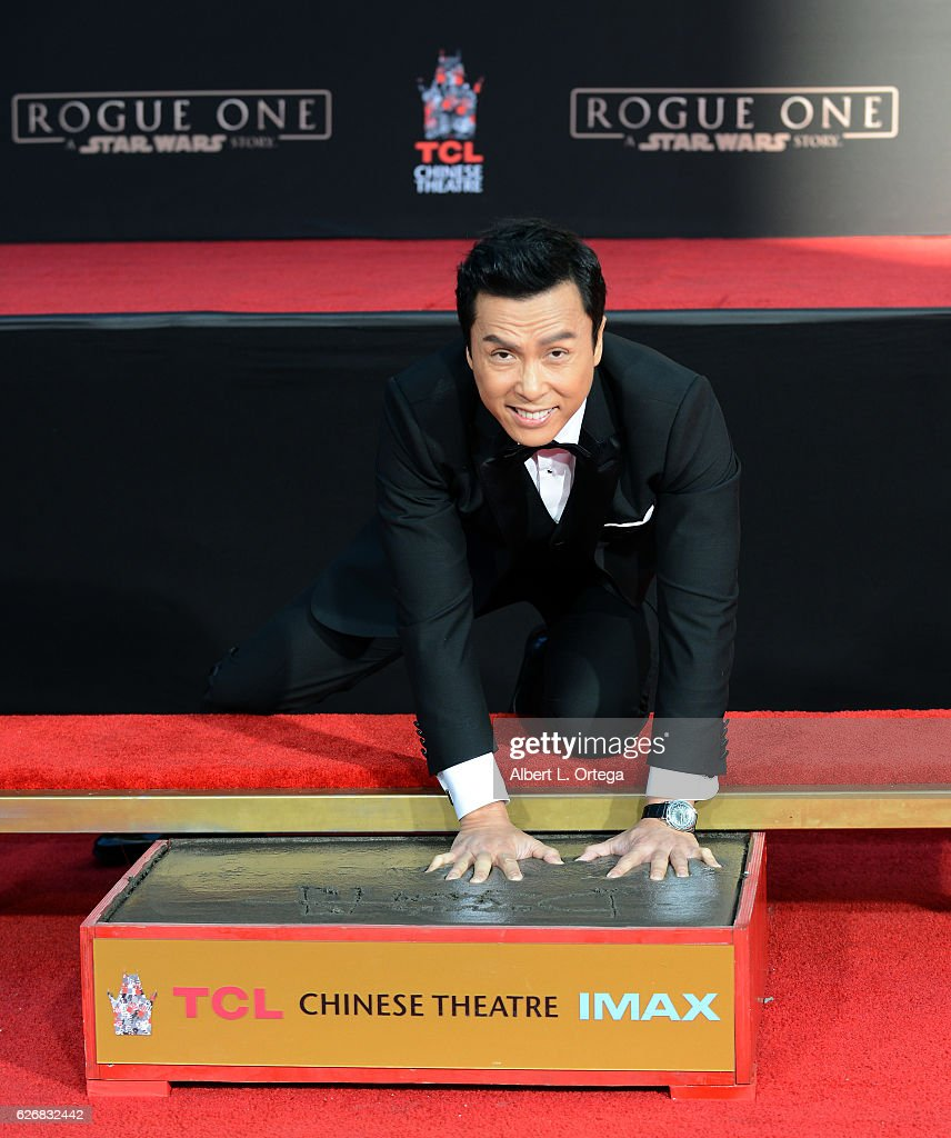 Donnie Yen Hand And Footprint Ceremony