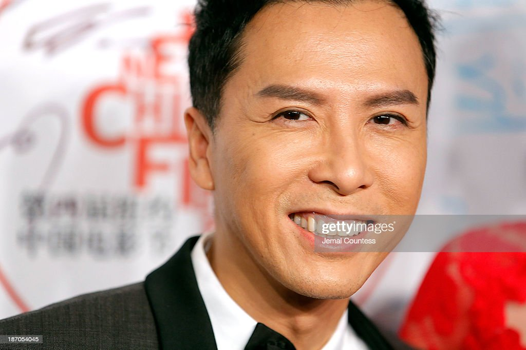 Actor <a gi-track='captionPersonalityLinkClicked' href=/galleries/search?phrase=Donnie+Yen&family=editorial&specificpeople=235559 ng-click='$event.stopPropagation()'>Donnie Yen</a> attends the 4th New York Chinese Film Festival Opening Night at Alice Tully Hall at Lincoln Center on November 5, 2013 in New York City.