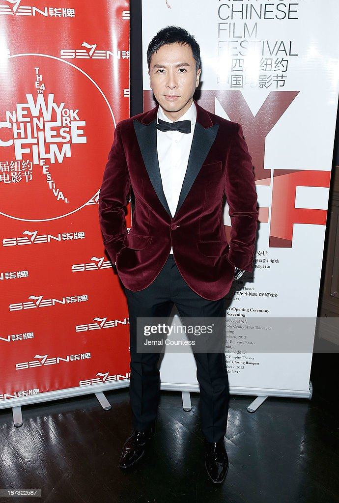 Actor <a gi-track='captionPersonalityLinkClicked' href=/galleries/search?phrase=Donnie+Yen&family=editorial&specificpeople=235559 ng-click='$event.stopPropagation()'>Donnie Yen</a> attends the 4th New York Chinese Film Festival Closing Night Gala at Capitale on November 7, 2013 in New York City.