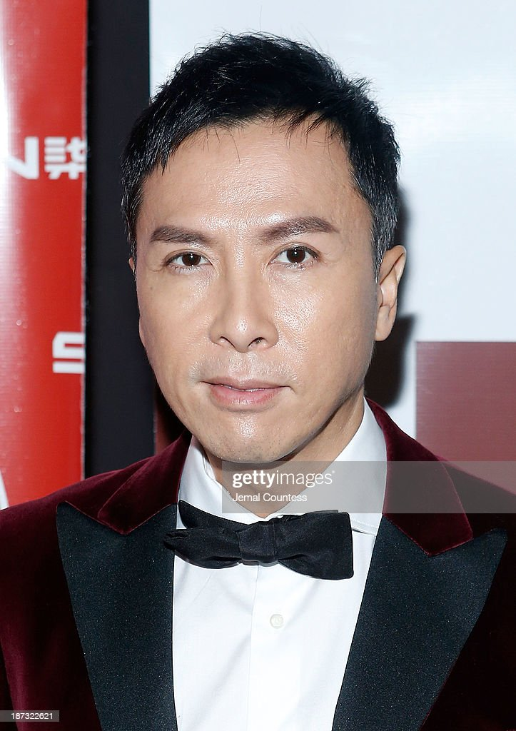 Actor Donnie Yen attends the 4th New York Chinese Film Festival Closing Night Gala at Capitale on November 7 2013 in New York City