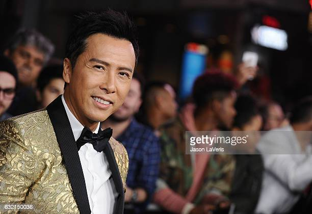 Actor Donnie Yen attends the premiere of 'xXx Return of Xander Cage' at TCL Chinese Theatre IMAX on January 19 2017 in Hollywood California