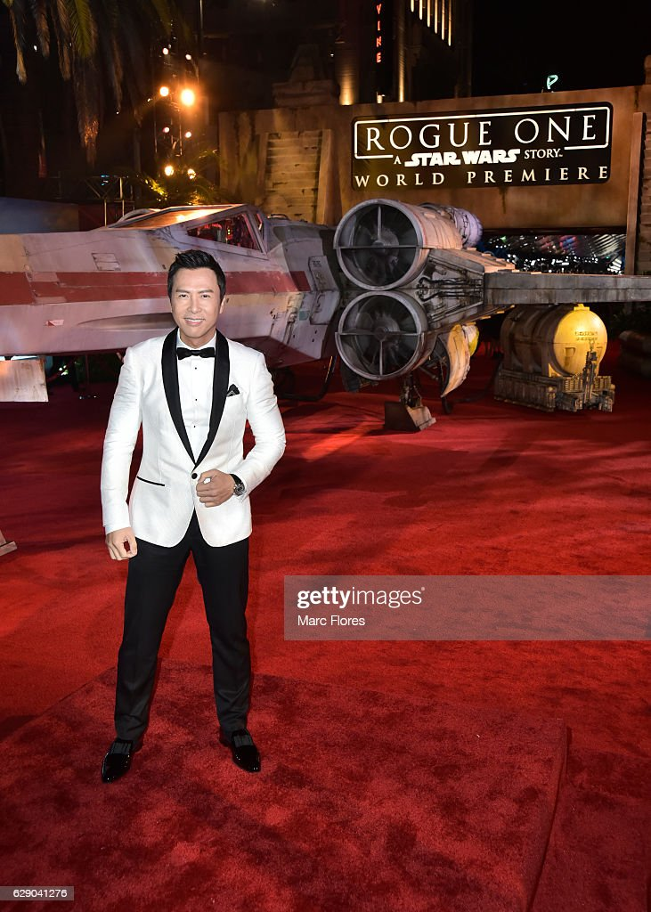 "The World Premiere Of ""Rogue One: A Star Wars Story"""
