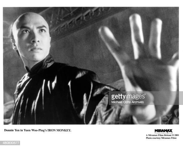 Actor Donnie Yen in a scene from the Miramax movie ' Iron Monkey ' circa 1993
