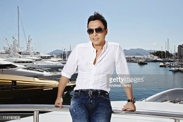 Actor Donnie Yen poses at the 'Wu Xia' portrait session during the 64th Annual Cannes Film Festival on May 15 2011 in Cannes France