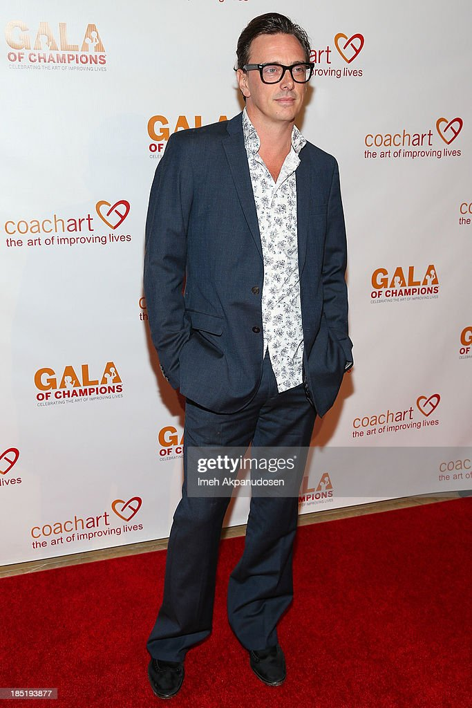 Actor Donovan Leitch attends CoachArt's 9th Annual 'Gala Of Champions' at The Beverly Hilton Hotel on October 17, 2013 in Beverly Hills, California.