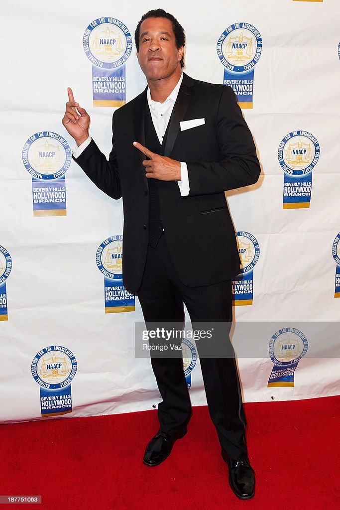 Actor <a gi-track='captionPersonalityLinkClicked' href=/galleries/search?phrase=Dorian+Gregory&family=editorial&specificpeople=635174 ng-click='$event.stopPropagation()'>Dorian Gregory</a> attends the 23rd Annual NAACP Theatre Awards at Saban Theatre on November 11, 2013 in Beverly Hills, California.