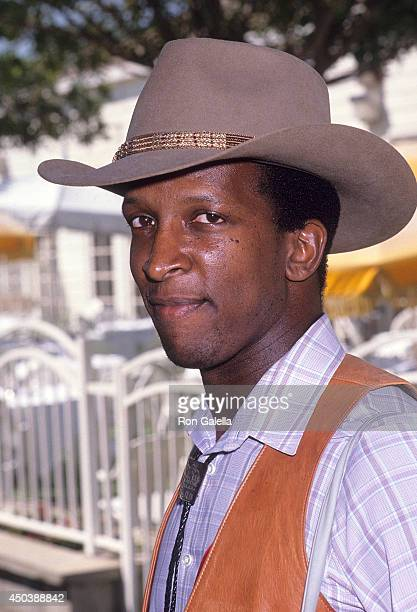 Actor Dorian Harewood attends the Ben Johnson Pro/Celebrity Rodeo to Benefit Permanent Charities Committee of the Entertainment Industry on August 13...