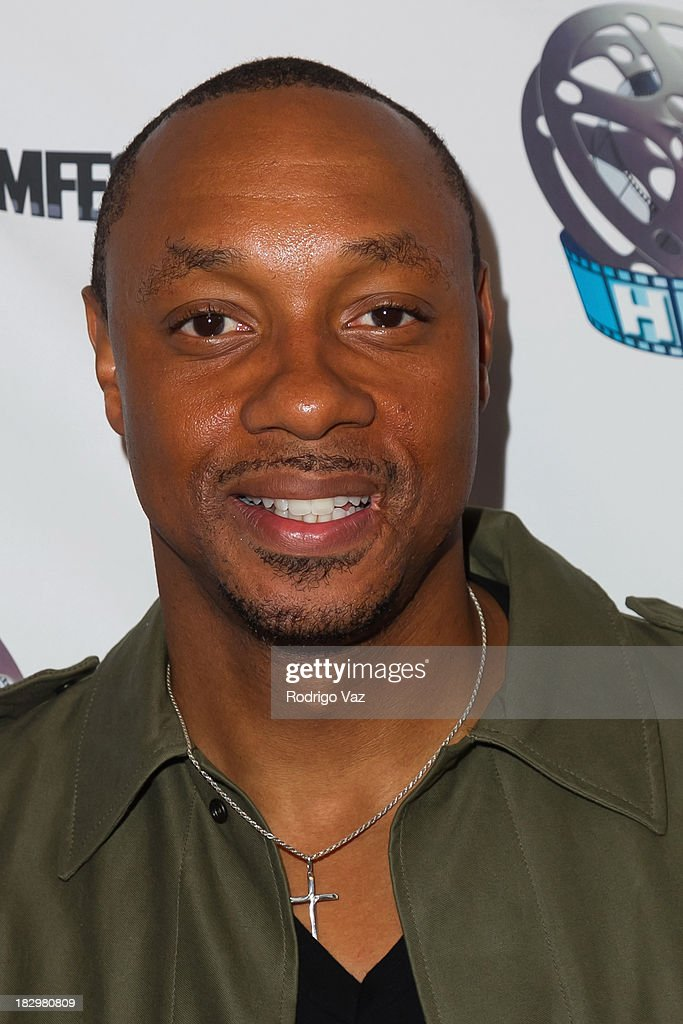 Actor <a gi-track='captionPersonalityLinkClicked' href=/galleries/search?phrase=Dorian+Missick&family=editorial&specificpeople=678688 ng-click='$event.stopPropagation()'>Dorian Missick</a> attends the Opening Night for the Hollywood Black Film Festival (HBFF) Arrivals at The Ricardo Montalban Theatre on October 2, 2013 in Hollywood, California.