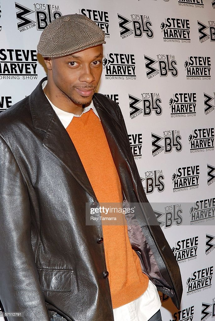 Actor Dorian Missick attends the premiere of Steve Harvey's 'Don't Trip...He Ain't Through With Me Yet' at the Magic Johnson Theaters March 16, 2006 in New York City.