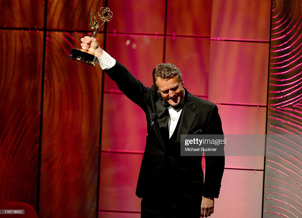 Actor Doug Davidson accepts the Outstanding Lead Actor in a Drama Series award for 'The Young and the Restless' onstage during the 40th Annual Daytime Emmy Awards at the Beverly Hilton Hotel on June 16, 2013 in Beverly Hills, California. 23774_001_1363.JPG