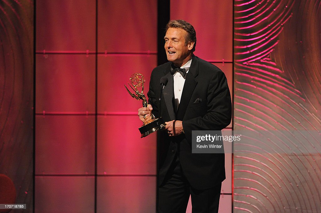 Actor Doug Davidson accepts the Outstanding Lead Actor in a Drama Series award for 'The Young and the Restless' onstage during The 40th Annual Daytime Emmy Awards at The Beverly Hilton Hotel on June 16, 2013 in Beverly Hills, California.