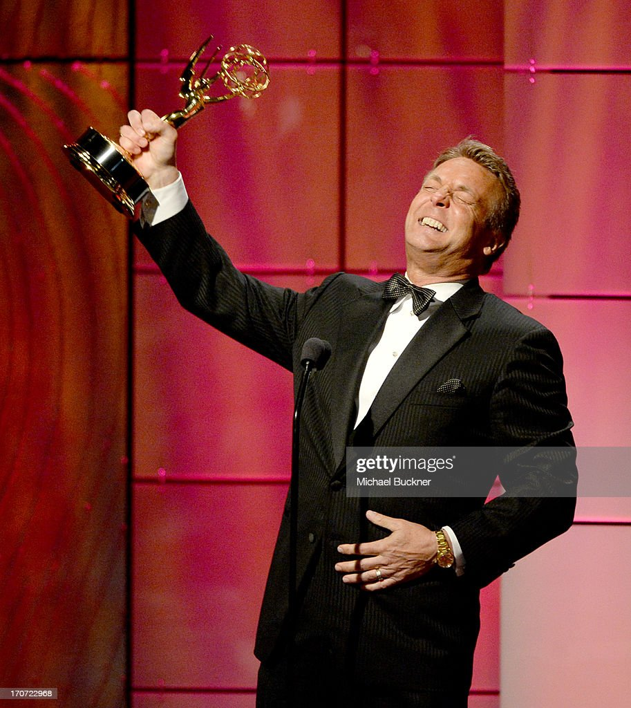 Actor Doug Davidson accepts the Outstanding Lead Actor in a Drama Series award for 'The Young and the Restless' onstage during the 40th Annual Daytime Emmy Awards at the Beverly Hilton Hotel on June 16, 2013 in Beverly Hills, California. 23774_001_1358.JPG